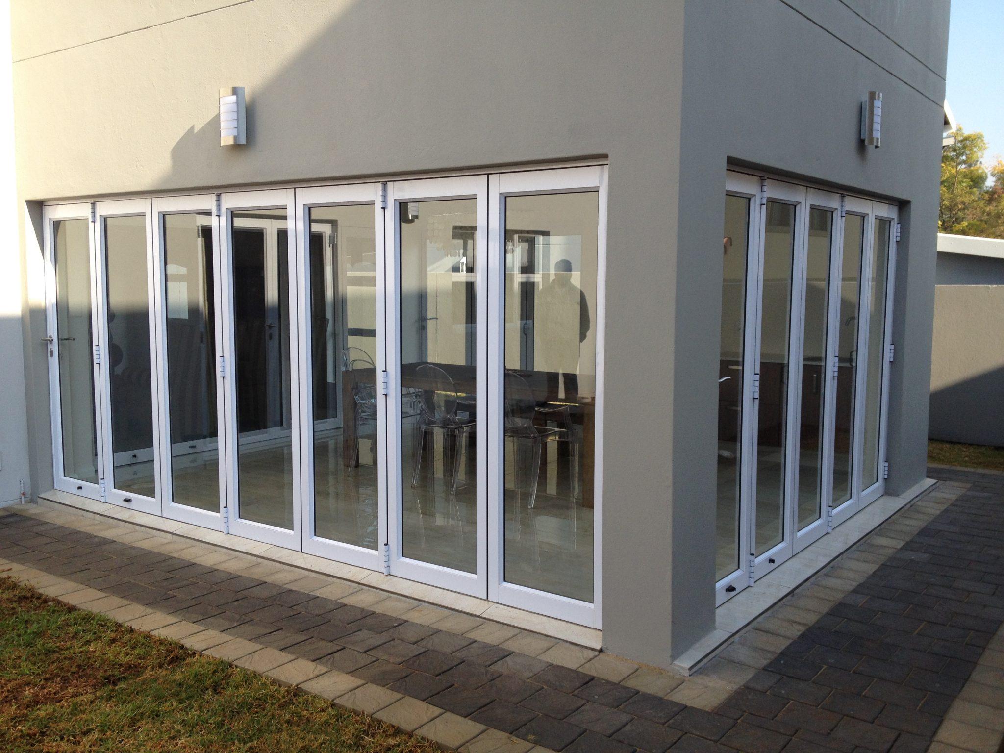 Top quality sliding folding doors in johannesburg for Folding sliding doors