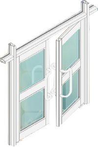 Clip44 Pivot Door